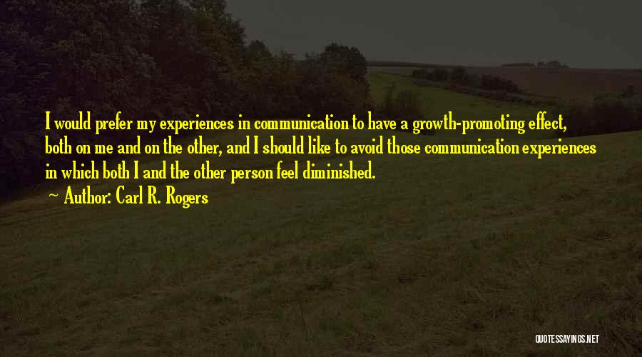 Carl R. Rogers Quotes 720241