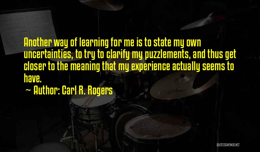 Carl R. Rogers Quotes 728443