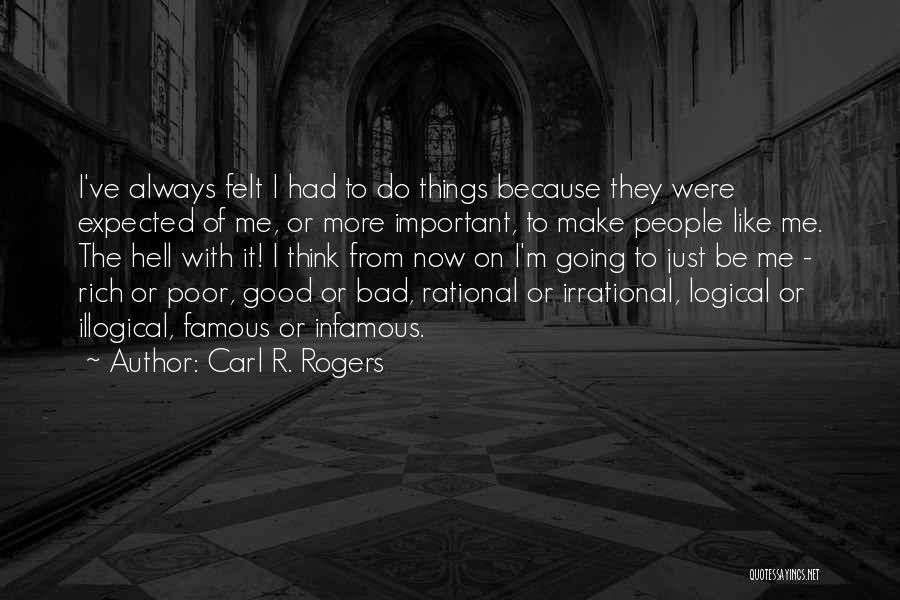Carl R. Rogers Quotes 909224