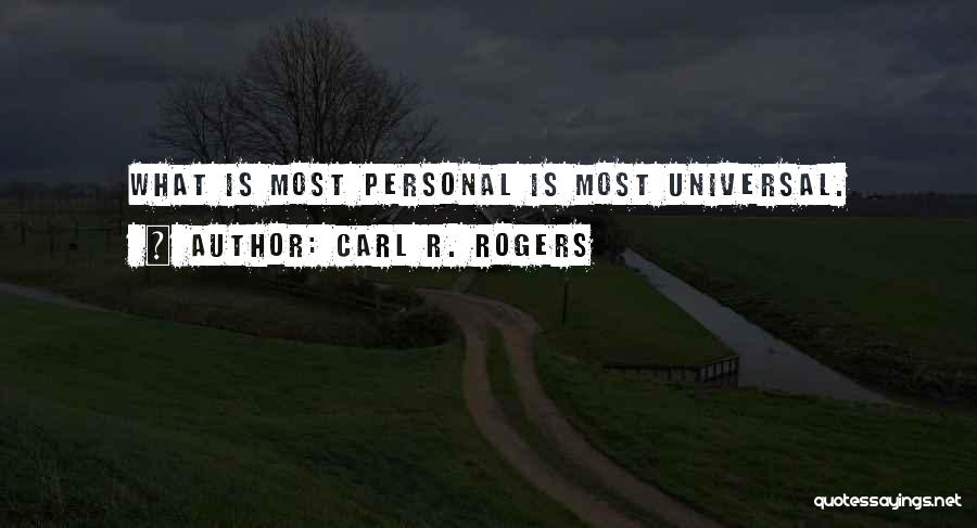 Carl R. Rogers Quotes 971738