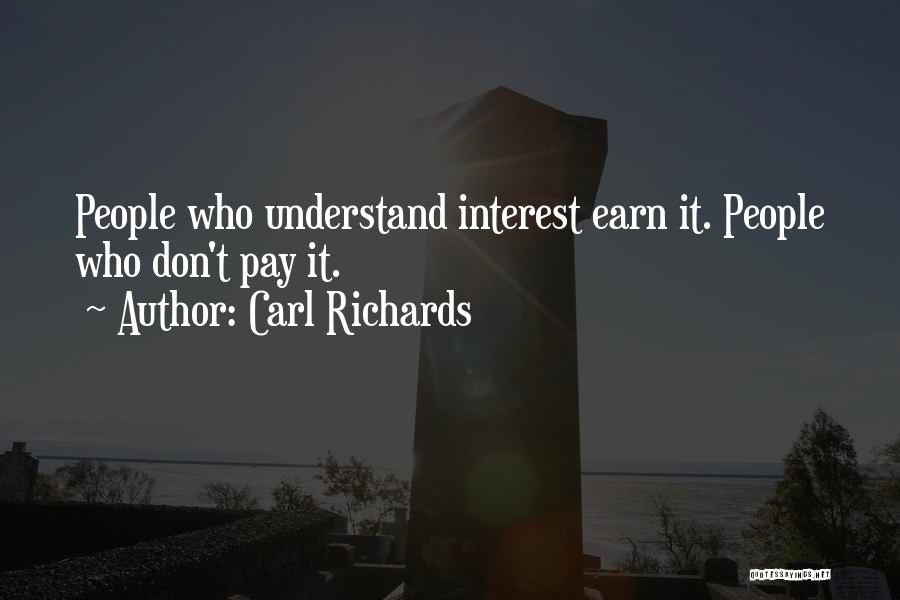 Carl Richards Quotes 224622