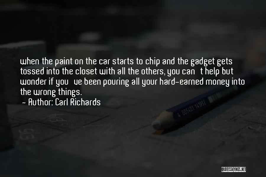 Carl Richards Quotes 504558