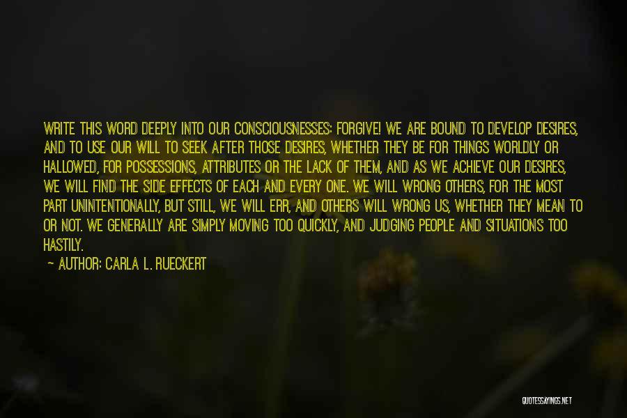 Carla L. Rueckert Quotes 1672578