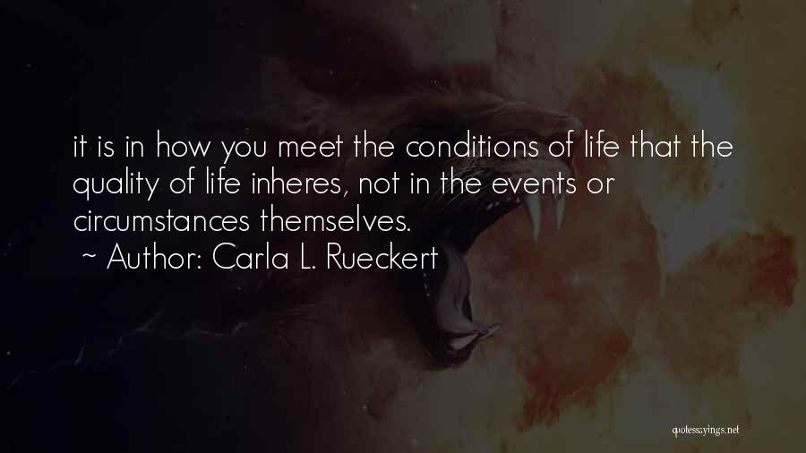 Carla L. Rueckert Quotes 324387