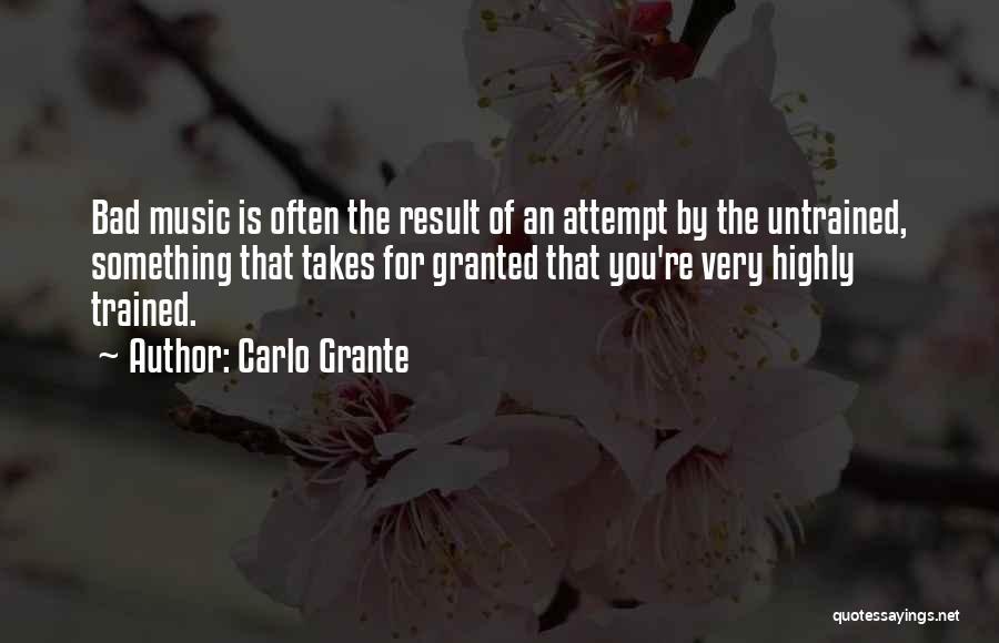 Carlo Grante Quotes 198425