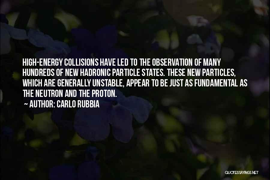 Carlo Rubbia Quotes 429213