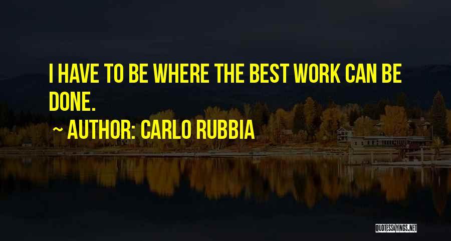 Carlo Rubbia Quotes 672356