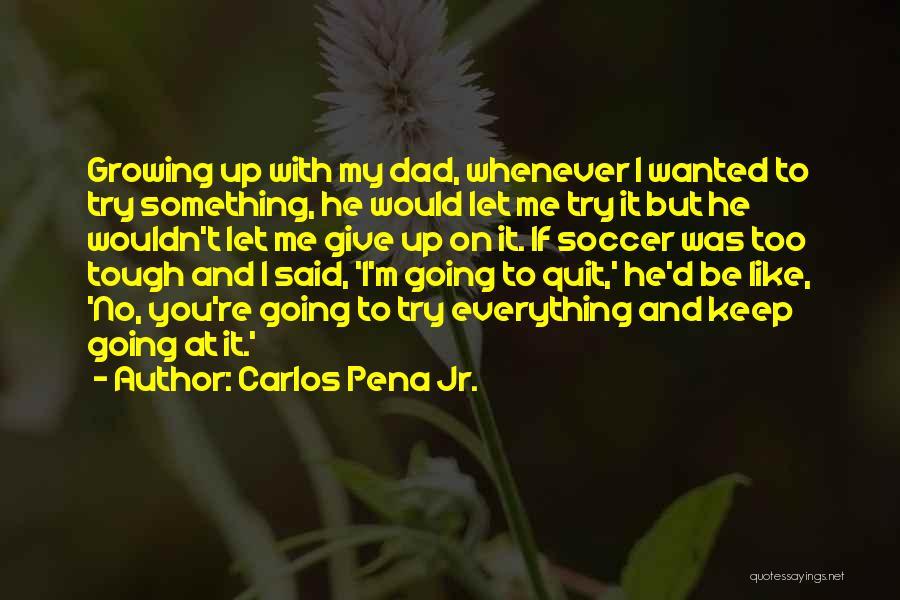 Carlos Pena Jr. Quotes 1096157