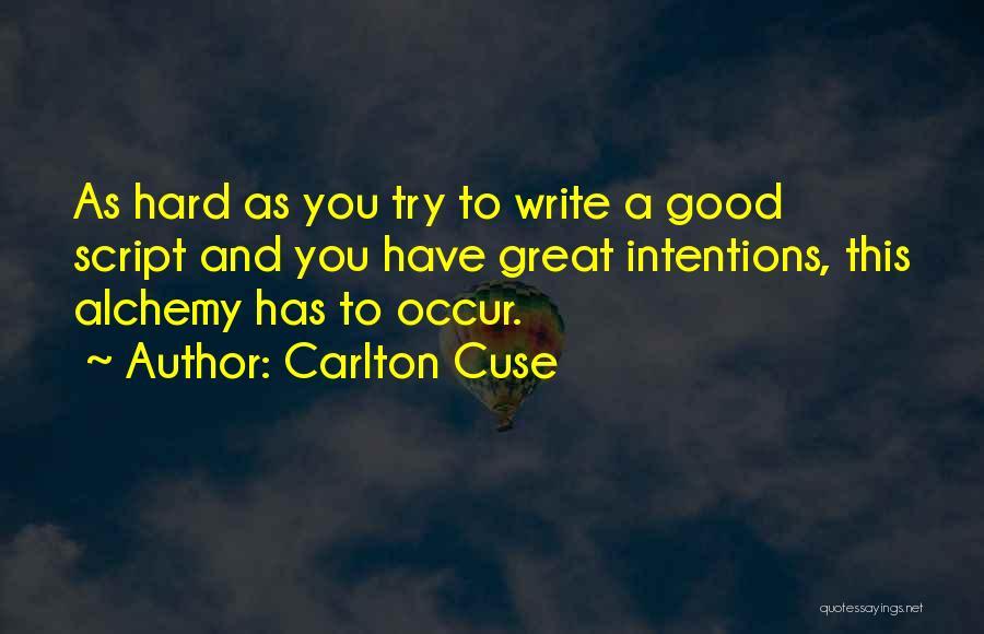 Carlton Cuse Quotes 2049207