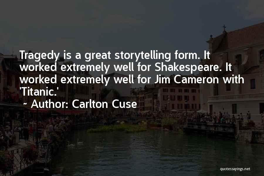 Carlton Cuse Quotes 446418