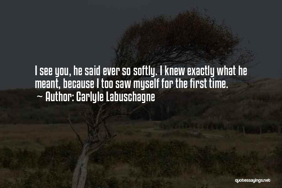 Carlyle Labuschagne Quotes 2204475