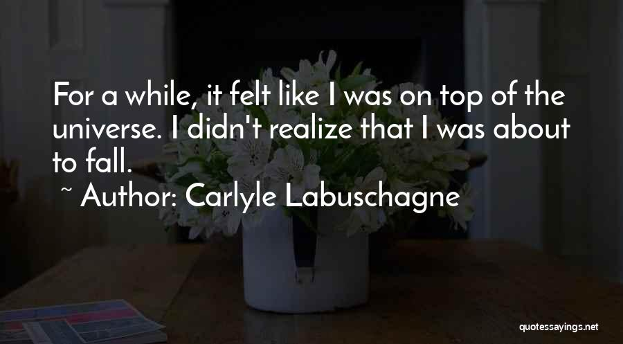 Carlyle Labuschagne Quotes 909873