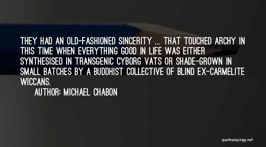 Carmelite Quotes By Michael Chabon