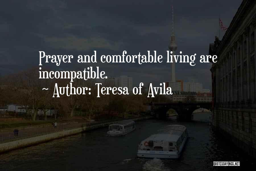 Carmelite Quotes By Teresa Of Avila
