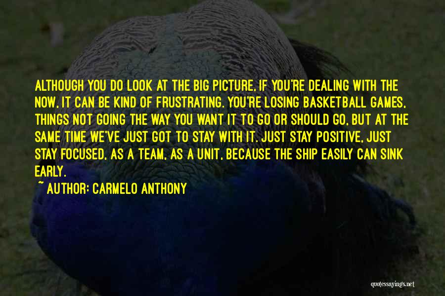 Carmelo Anthony Quotes 1143455