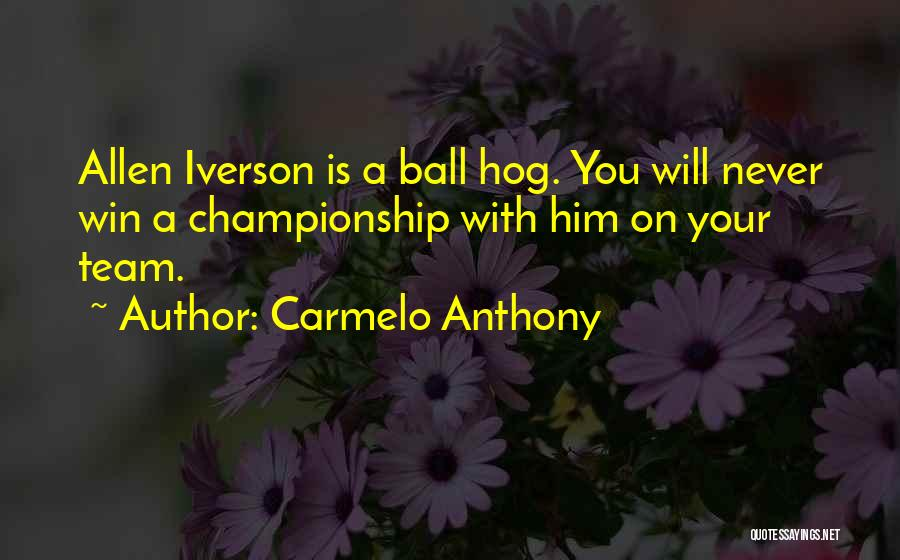 Carmelo Anthony Quotes 1354763