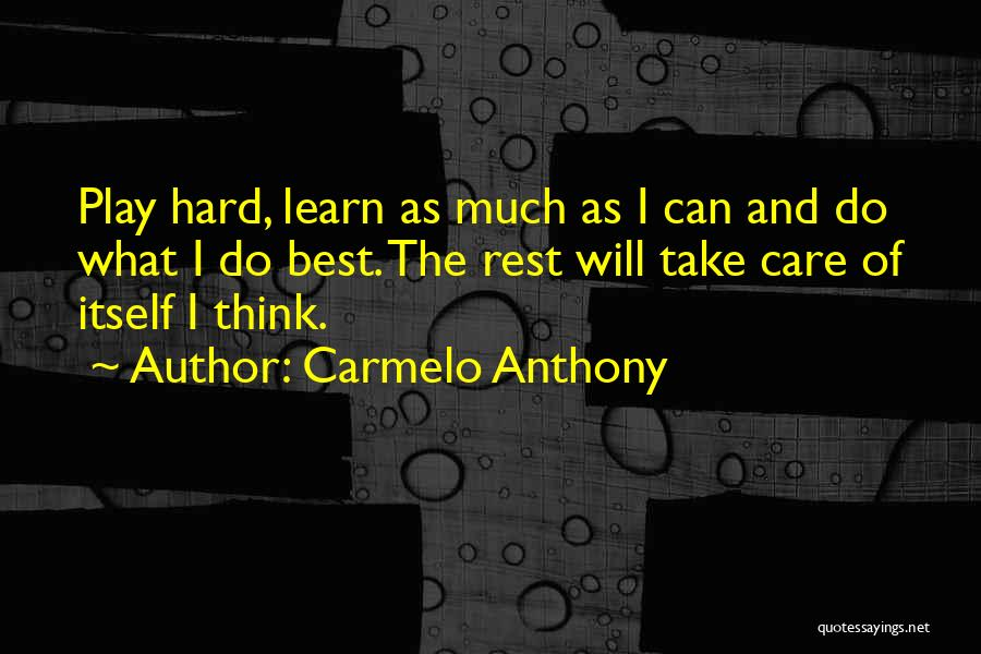 Carmelo Anthony Quotes 1865895
