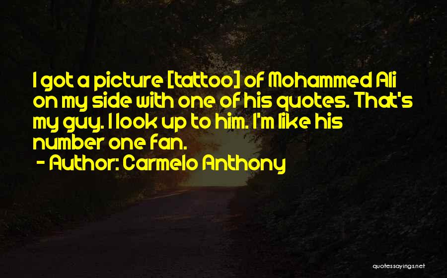 Carmelo Anthony Quotes 1883179
