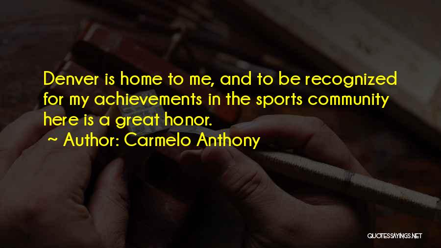 Carmelo Anthony Quotes 2226087