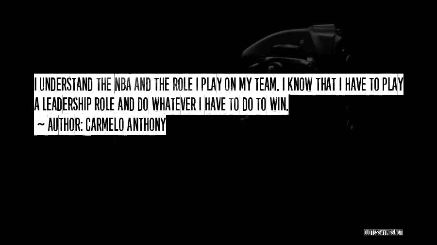Carmelo Anthony Quotes 605030