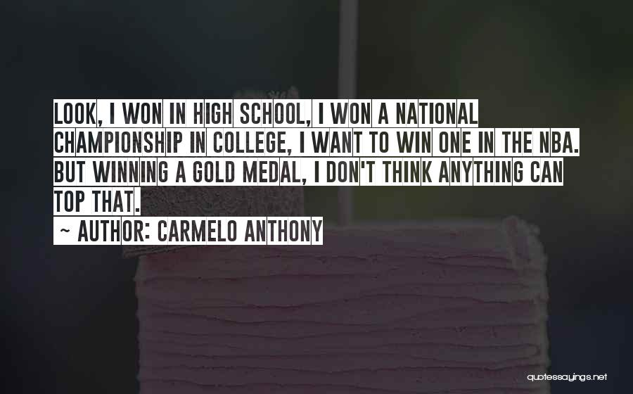 Carmelo Anthony Quotes 855012
