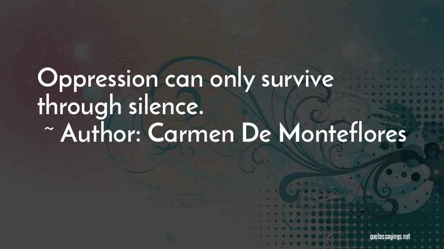 Carmen De Monteflores Quotes 937083
