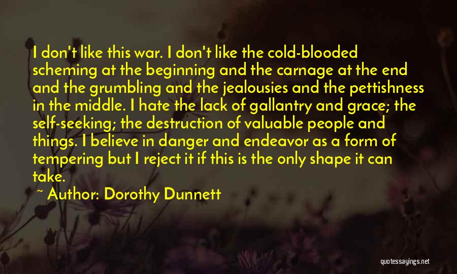 Carnage Quotes By Dorothy Dunnett