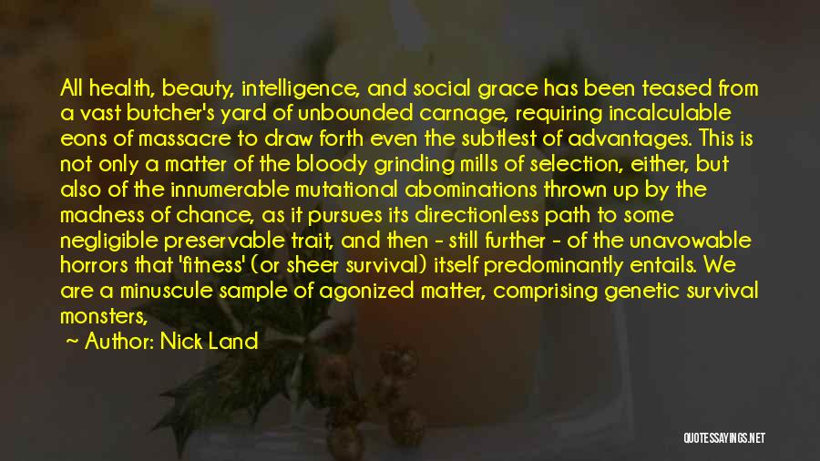 Carnage Quotes By Nick Land