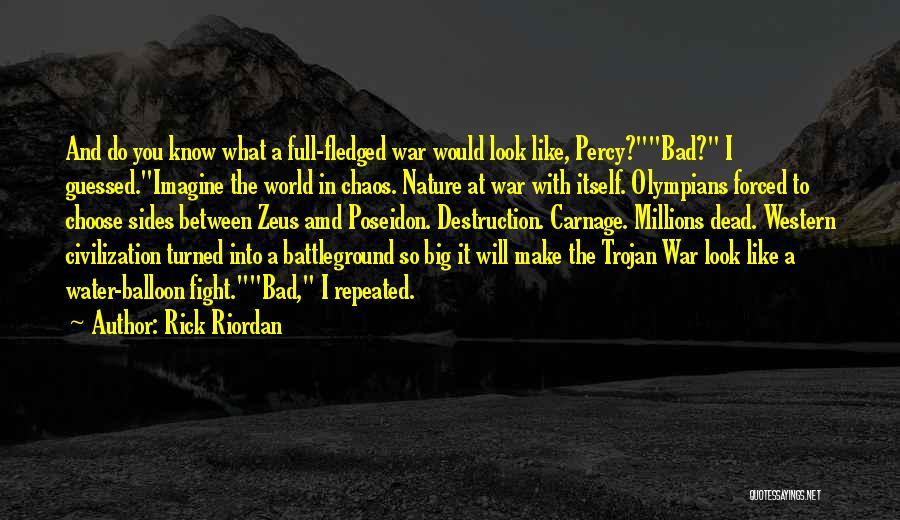 Carnage Quotes By Rick Riordan