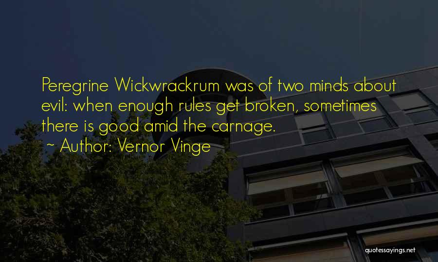 Carnage Quotes By Vernor Vinge