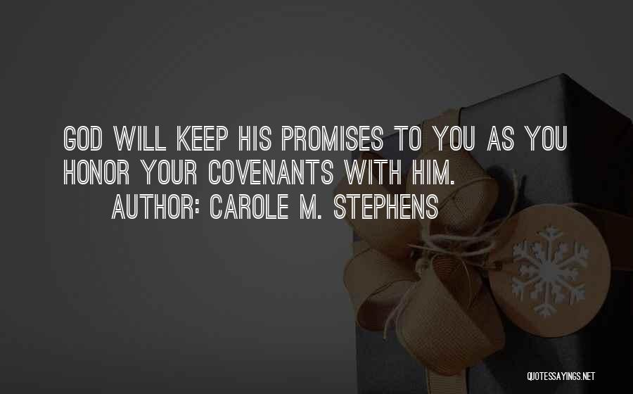 Carole M. Stephens Quotes 2008289