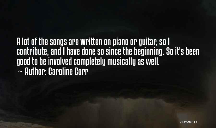 Caroline Corr Quotes 600406