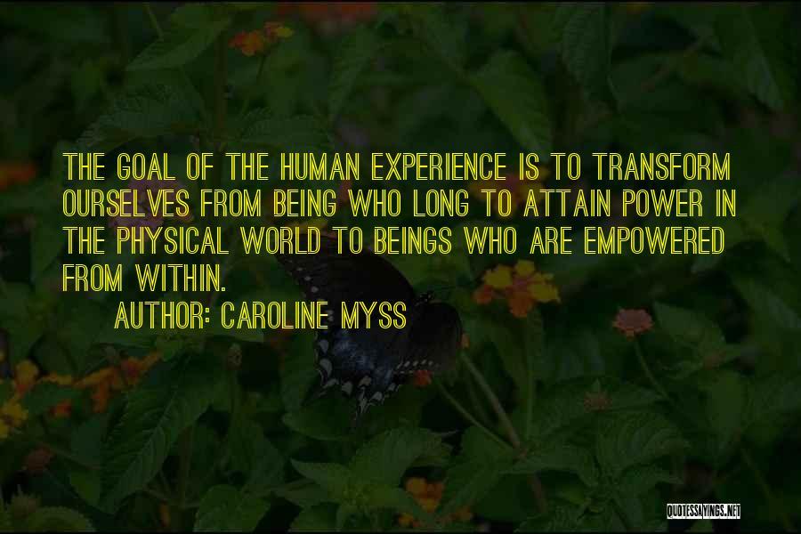 Caroline Myss Quotes 334111