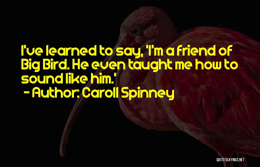 Caroll Spinney Quotes 233383