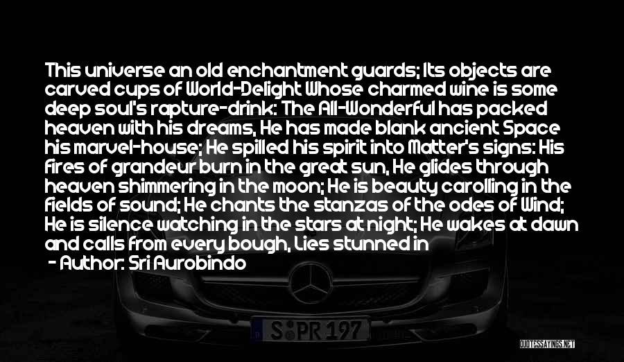 Carolling Quotes By Sri Aurobindo