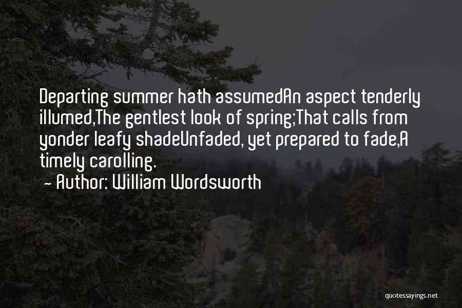 Carolling Quotes By William Wordsworth