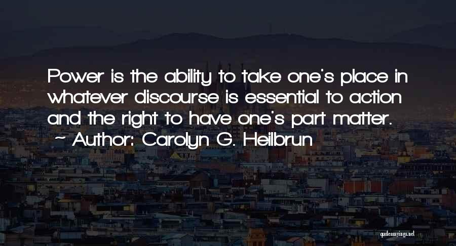 Carolyn G. Heilbrun Quotes 1158783