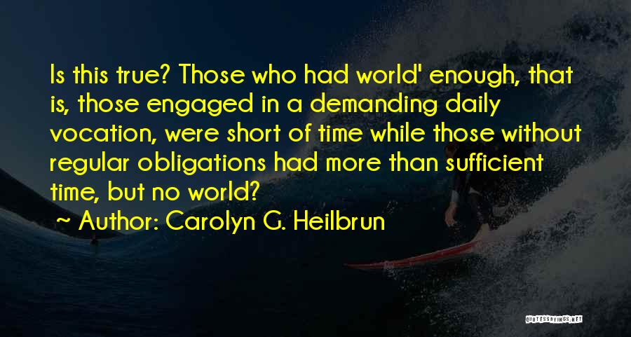 Carolyn G. Heilbrun Quotes 384396