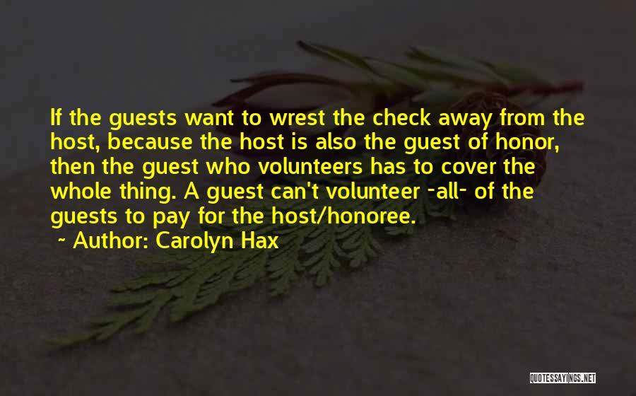 Carolyn Hax Quotes 1755265