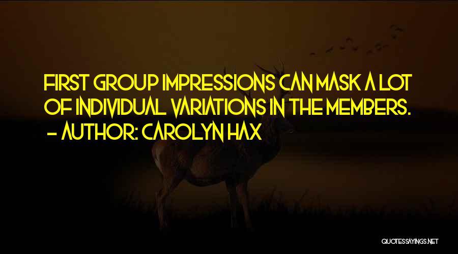 Carolyn Hax Quotes 893127