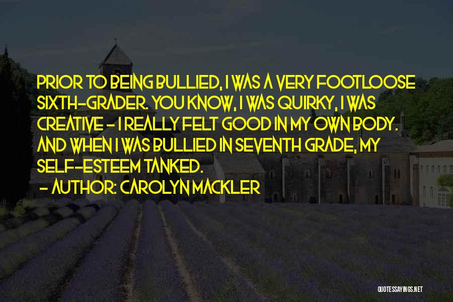 Carolyn Mackler Quotes 1621079
