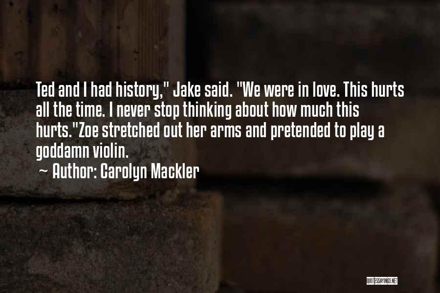 Carolyn Mackler Quotes 1971754