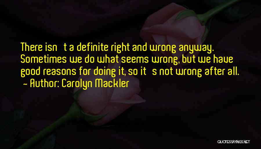 Carolyn Mackler Quotes 460099