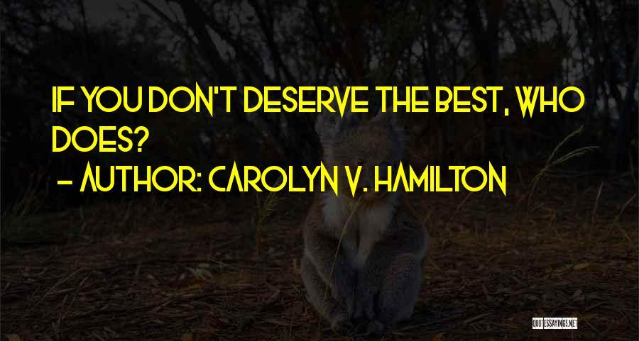Carolyn V. Hamilton Quotes 1283964