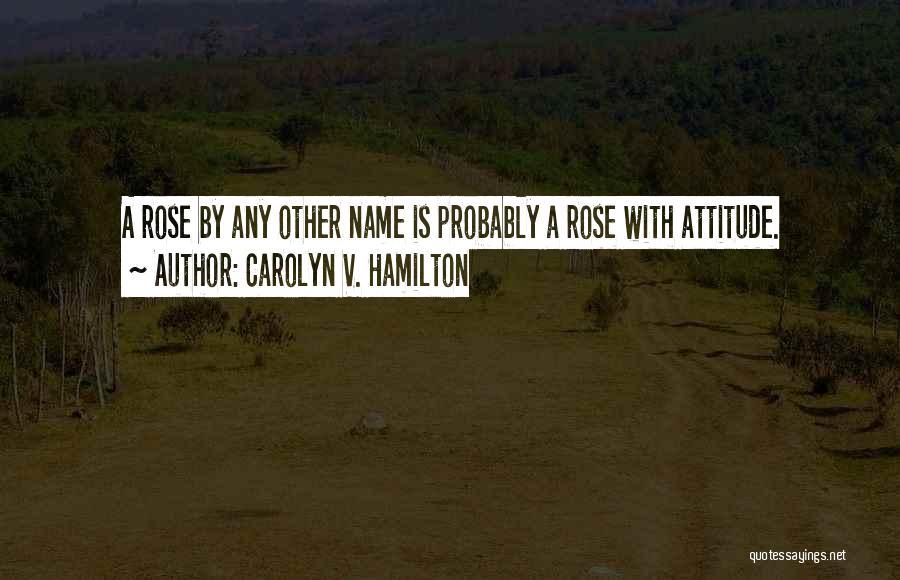 Carolyn V. Hamilton Quotes 1838935