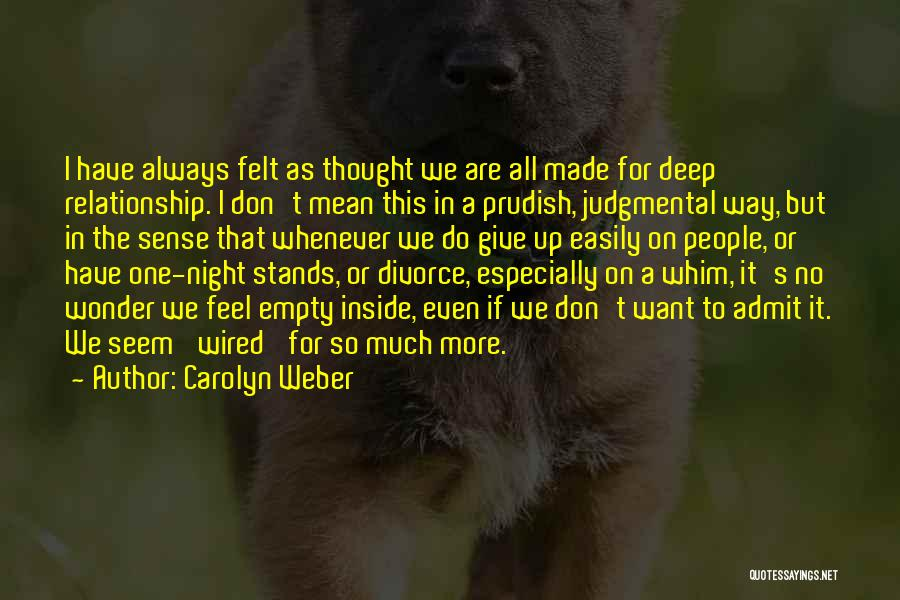 Carolyn Weber Quotes 1040281