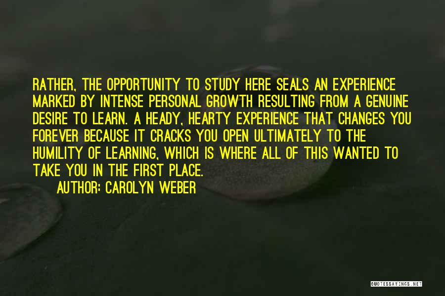 Carolyn Weber Quotes 1379061