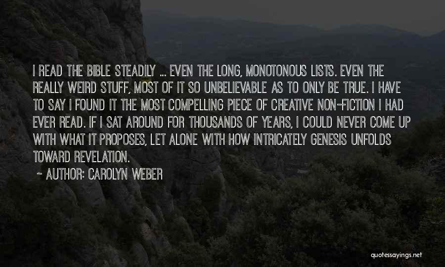 Carolyn Weber Quotes 1870306