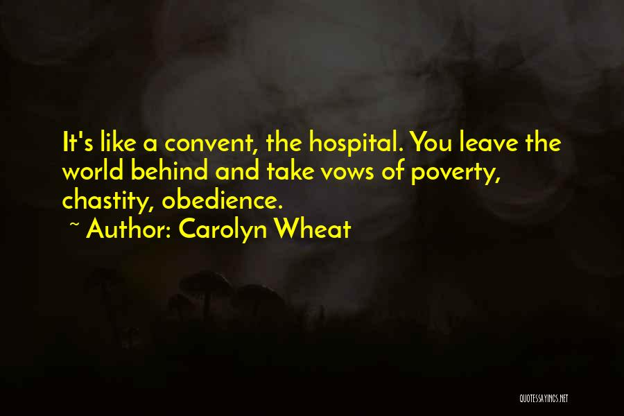 Carolyn Wheat Quotes 105839