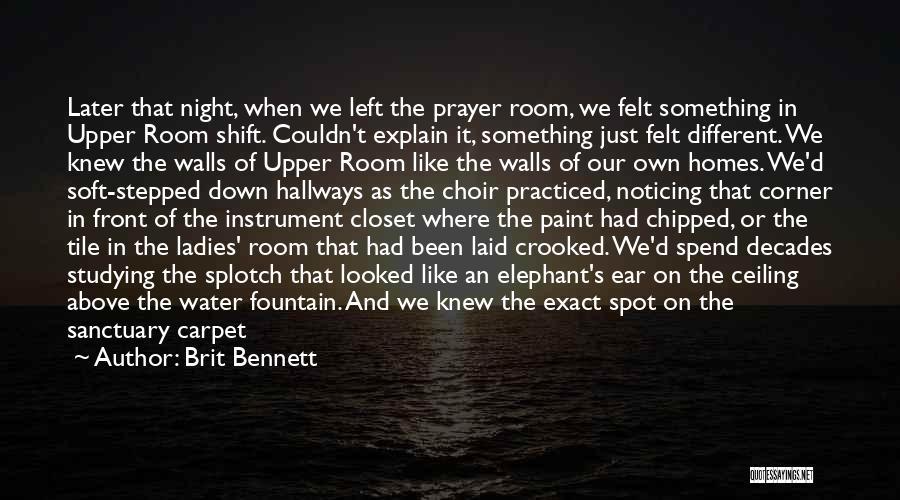 Carpet Tile Quotes By Brit Bennett